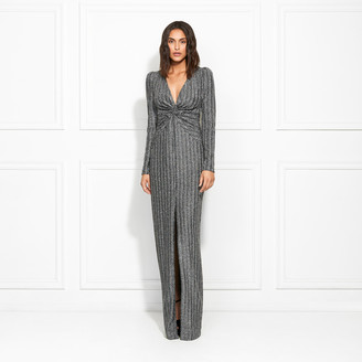 Rachel Zoe Nava Metallic Stretch Jersey Gown