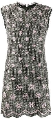 Giambattista Valli floral embroidery midi dress