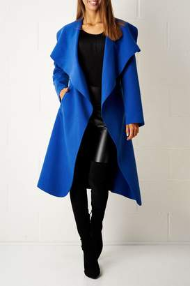 frontrow Blue Waterfall Coat