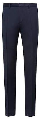 HUGO BOSS Extra-slim-fit trousers in pigment-dyed virgin wool