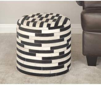 Cole & Grey Round Accent Stool