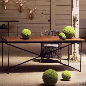 Roost Recycled Wood Dining Table