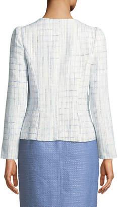 Sail To Sable Tweed Zip-Front Jacket