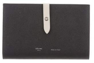 Celine 2017 Large Multifunction Strap Wallet
