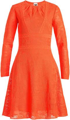M Missoni Jacquard Knit Cotton Dress