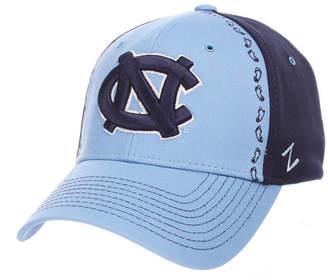 Zephyr North Carolina Tar Heels Pattern Pipe Stretch Cap