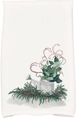 Holiday Essence Gardener's Holiday Delight Geometric Print Hand Towel