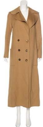 Celine Long Sleeve Long Coat