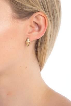 House Of Harlow The Flip Side Stone Stud Earrings