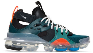 Nike Black and Blue D/MS/X Air Vapormax DSVM Sneakers