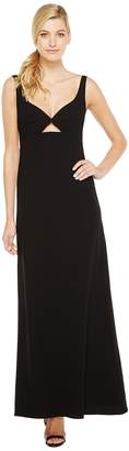Jill Stuart Keyhole Crepy Gown Women's Dress