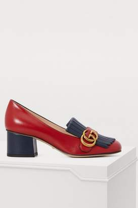 Gucci GG fringed loafers