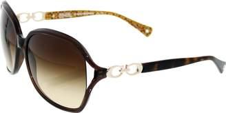 Coach Women's Gradient HC8018-503513-60 Rectangle Sunglasses