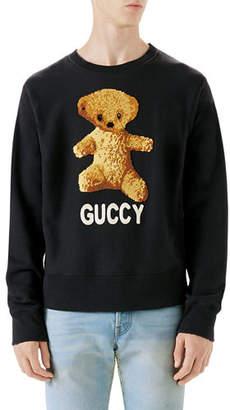Gucci Guccy Teddy Bear Sweatshirt