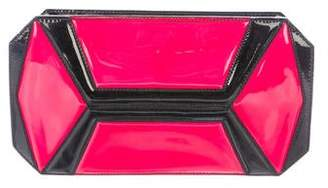 Alexander McQueen Patent Leather Clutch