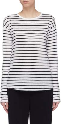 Theory Stripe long sleeve T-shirt