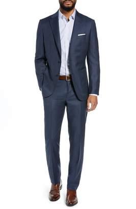 BOSS Hunter/Goswin Trim Fit Solid Wool Suit