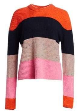 A.L.C. Georgina Bold Stripe Knit Sweater