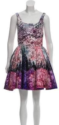 Mary Katrantzou Sleeveless Digital Print Dress