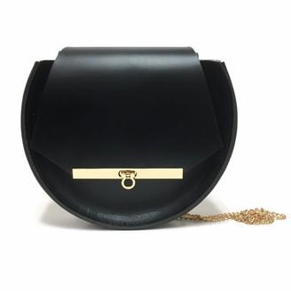 Angela Valentine Handbags Loel Mini Military Bee Chain Bag Clutch In Black