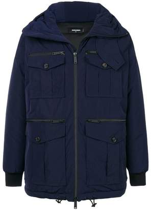 DSQUARED2 multi pockets parka