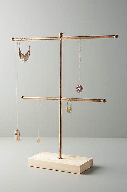 Anthropologie Two-Tiered Jewelry Stand