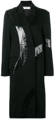 Victoria Beckham appliquéd coat