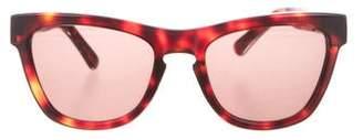 Westward Leaning Westward\\Leaning Tinted Tortoiseshell Sunglasses