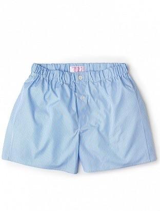 ebd188c631 Emma Willis Sky Bengal Stripe - Patchwork Boxer Shorts