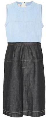 Marni Two-tone denim dress