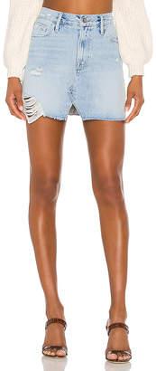 Frame Le Mini Split Front Skirt.