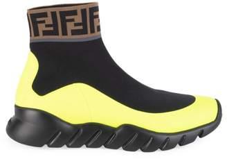 Fendi Mania Colorblock Sock Sneakers