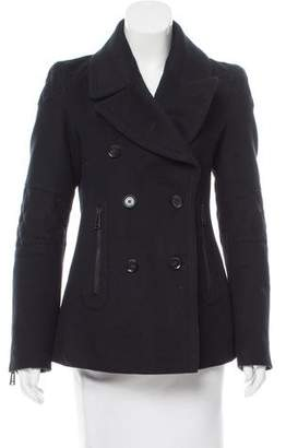 Belstaff Double-Breasted Wool & Cashmere-Blend Coat