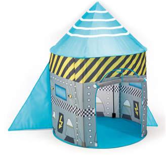 The Little Blue Owl Rocket Ship Pop Up Play Tent
