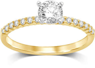 MODERN BRIDE 1/2 CT. T.W. Diamond 10K Yellow Gold Solitaire Ring