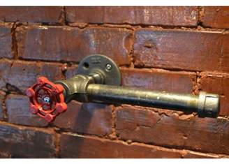 West Ninth Vintage Industrial Wall Mounted Toilet Paper Holder
