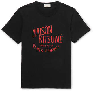 MAISON KITSUNÉ Printed Cotton-Jersey T-Shirt