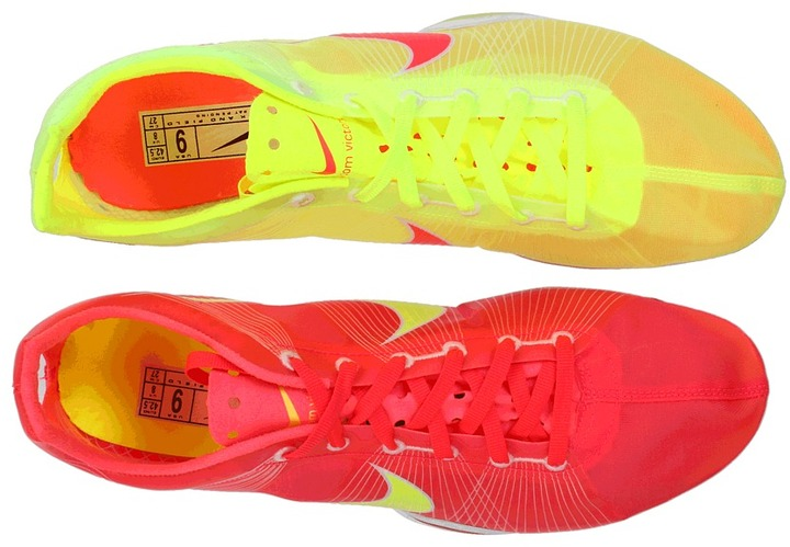 Nike Zoom Victory (Solar Red/White/Volt) - Footwear