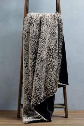 Next Textured Animal Faux Fur Throw