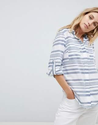 Oasis Stripe Oversized Shirt
