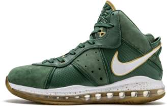 Nike Lebron - 'St. Vincent St. Mary - away' - Forest Green/Gold
