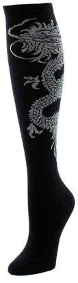 Natori Dragon Cashmere Blend Socks