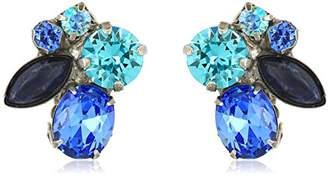Rock & Candy Sorrelli Ultramarine Rock Candy Clip-On Earrings