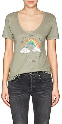 "Barneys New York Haas Brothers Xo Women's ""You Can't Have Rainbows"" Cotton T-Shirt"