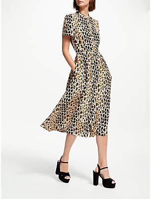 Somerset by Alice Temperley Leopard Print Shirt Dress, Multi