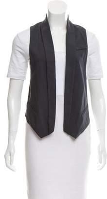 Brunello Cucinelli High-Low Wool Vest