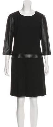 The Kooples Knee-Length Pleated Dress w/ Tags