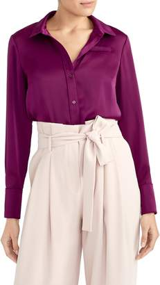 Rachel Roy Collection Satin Blouse