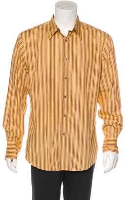 John Varvatos Striped Woven Shirt
