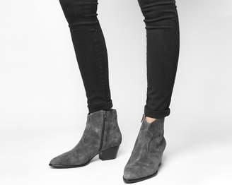 3478dfe5cef4 Ash Heidi Bis Ankle Boots Bistro Soft Suede